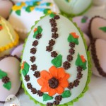 Handmade candy Easter eggs, Queensland