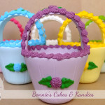 Candy baskets by Bonnie's Cakes & Kandies – available to purchase at selected retailers at Easter each year, or by special order as party baskets to fill with lollies (delivery only - postage not available)