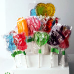 All Bonnie's Cakes & Kandies lollipops are gluten free, with a large variety of colours, flavours, and shapes available. Lollipops are great for birthday parties, sweet gifts, and wedding bonbonniere, with postage available throughout Australia.