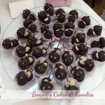 Cherries and dark chocolate