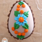 Coconut candy Easter eggs