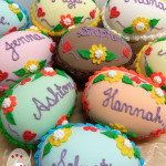 Personalised candy egg bonbonniere by Bonnie's Cakes & Kandies.