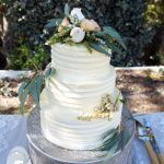 Lime & coconut, carrot cake, and a white chocolate buttercream covering were in order for this Hervey Bay wedding cake.