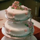 Mount Isa Vintage Wedding Cake Garrett Frills Piped Embroidery Waterfall of Icing Flowers Bonnie's Cakes & Kandies Gympie & Sunshine Coast Cake Decorator Th