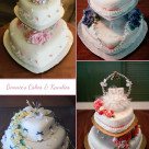 Heart shaped vintage wedding cakes Gympie
