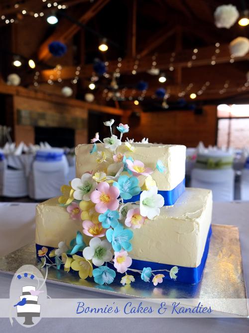 Bonnie's Cakes & Kandies Wedding Cakes