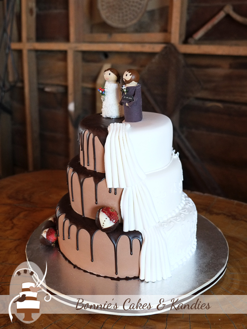 Recreated With Slight Adaptations From An Original Design By Shockleys Sweet Shoppe This Three Tier