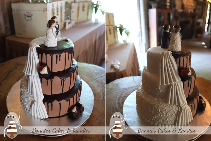 Boomerang Farm wedding cake Bonnie's Cakes & Kandies Gympie