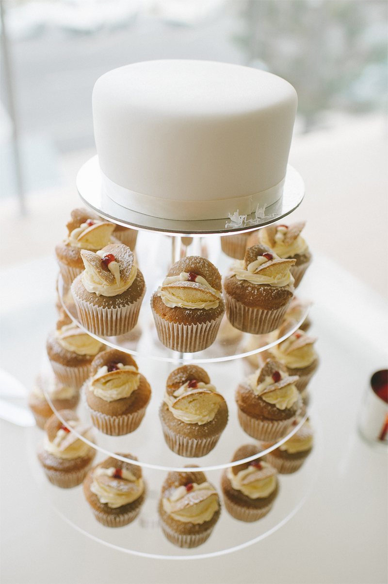 Bringing new style to old with a tower of butterfly cupcakes – gorgeous image by Anya Maria Photography