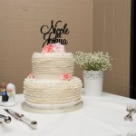 Romantic Ruffles at Rainbow Shores {Rainbow Beach Wedding Cake with Milque Photography and Films}