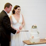 Beauty, romance, and Brian G Photography {Rainbow Beach Wedding Cake}