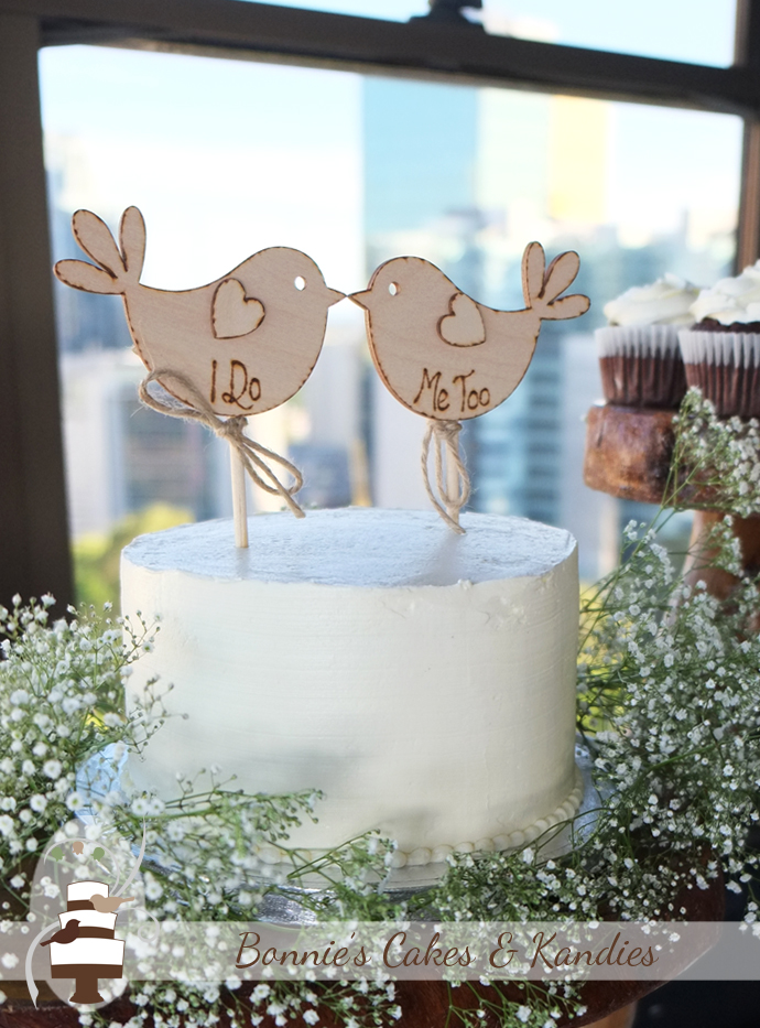 Wooden Cake Toppers Brisbane