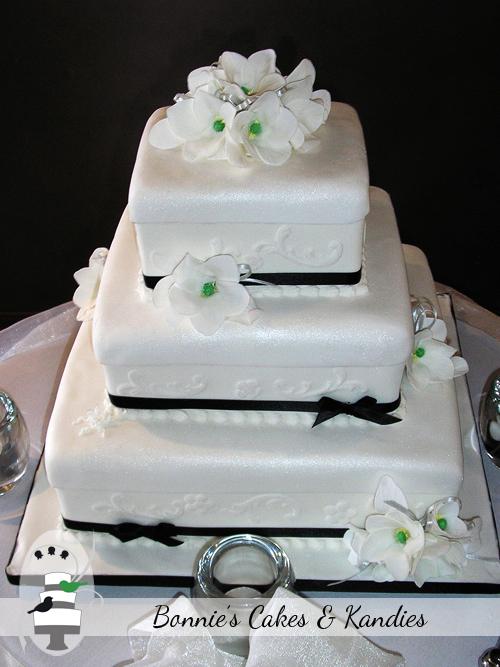 Three Tier Fondant Cake