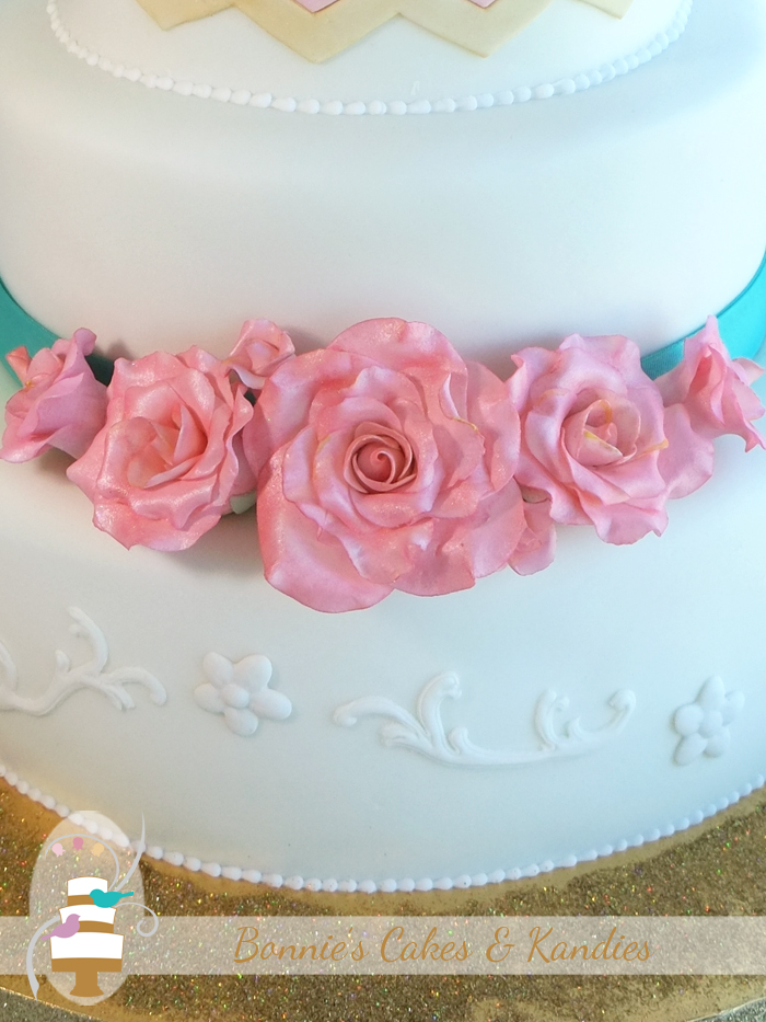 Rainbow Beach Surf Club Wedding Cake