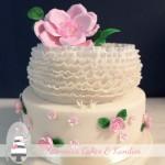 Vegan Wedding Cake at Summergrove Estate {Carool/Tweed Hinterland Wedding Cake}