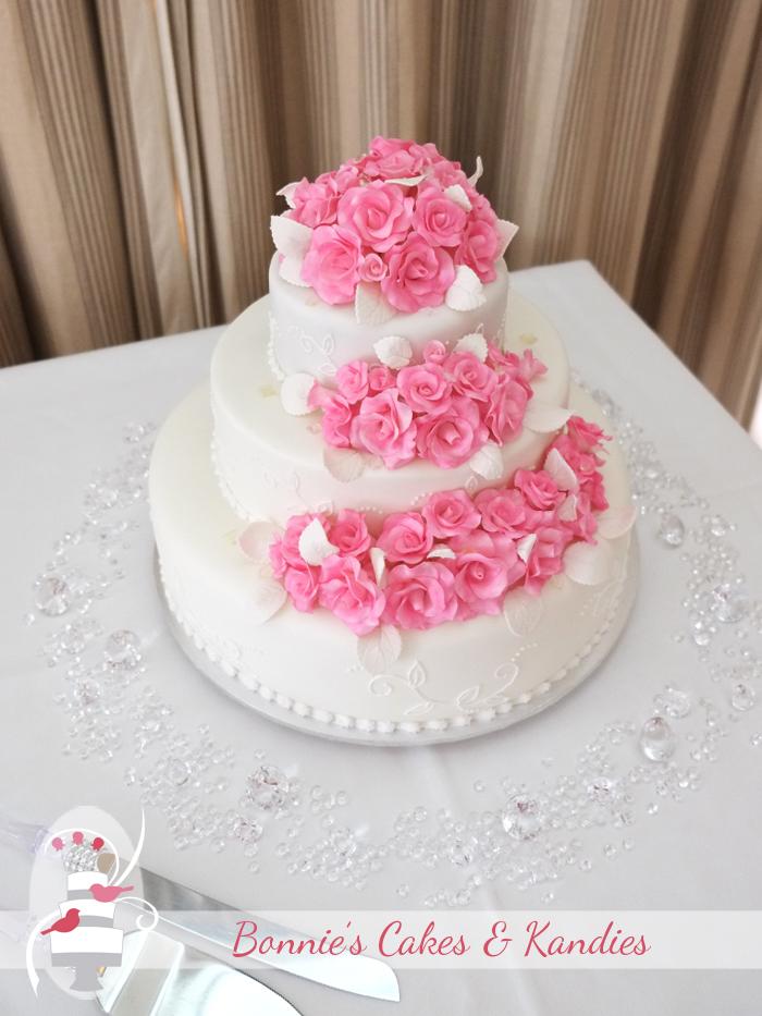 Rainbow Beach Wedding Cakes