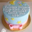 Gluten free baby shower cakes
