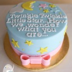 How we wonder what you are… {Gluten Free Baby Shower Cake}