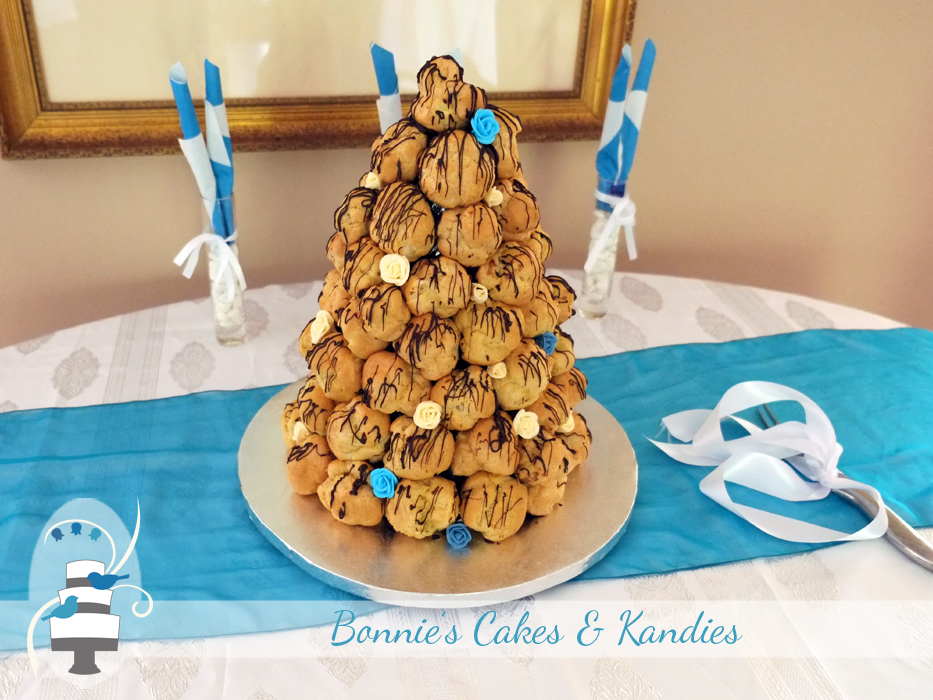 Eumundi wedding cake croquembouche