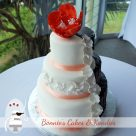Rainbow Beach wedding cake Queensland weddings