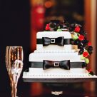 Brisbane wedding cake by Bonnie's Cakes & Kandies; Photography by Dreamlife Photos & Video (Brisbane)