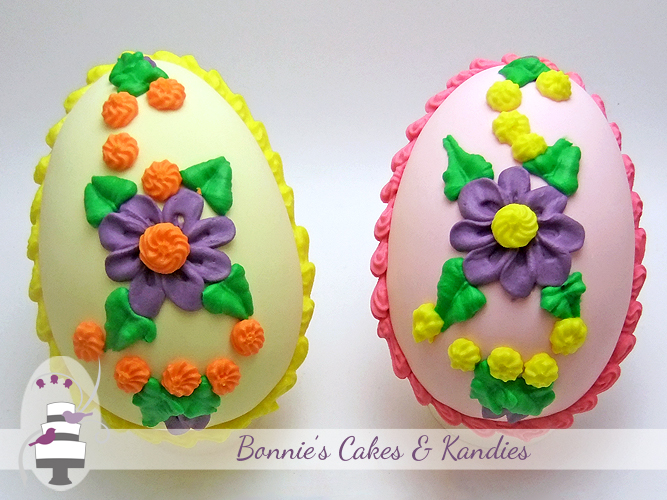 Easter Egg Wedding Cake