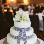 Three tier Noosa wedding cake made by Bonnie's Cakes & Kandies, Gympie & Sunshine Coast Cake Decorator. Photo credit: Stewart Ross Photography