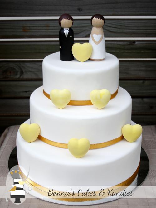 Dark Chocolate Mud Cake Wedding