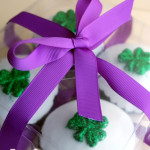 Beautiful buttercream and a sweet surprise! {Rainbow Beach Wedding Cake}