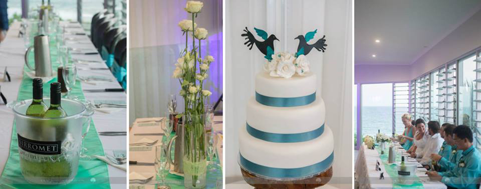 Rainbow Beach Wedding Photography by Pomegranate Photography, Cake by Bonnie's Cakes & Kandies