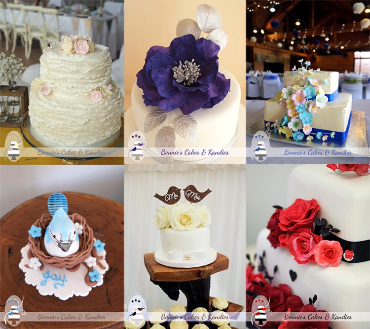 Wedding cakes Gympie Rainbow Beach Kenilworth Noosa Sunshine Coast