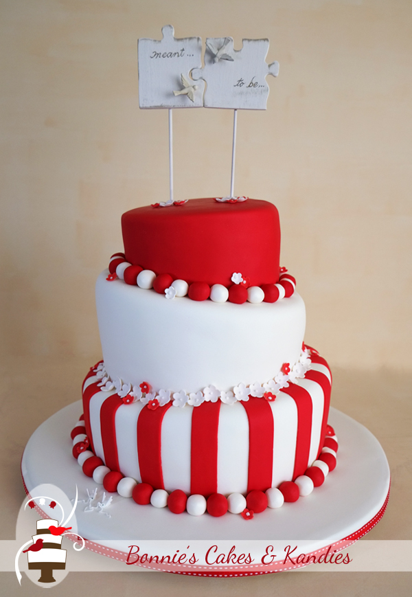 red and white wedding cake designs striking and white for a match that was meant to be 19099