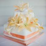Intimate Lake Terrace Wedding in the Sunshine Coast Hinterland {Montville Wedding Cake with Artography}