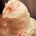 A cake as pretty as a picture by Mitchell J Carlin Wedding Photographer
