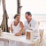 Celebrating the new Mr & Mrs {Fraser Island Wedding Cake}