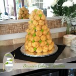 Croquembouche –a popular alternative for contemporary Australian wedding cakes