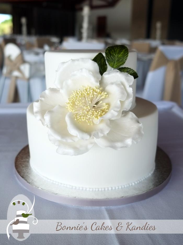 Gluten free wedding cakes Twin Waters Sunshine Coast