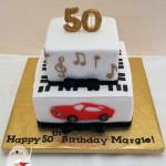 Nothing says celebration better than cake  {50th birthday cake}