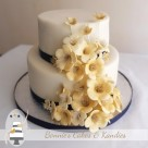 Traditional fruit cake for a Montville elopement