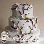 Cherry Blossoms at Rainbow Shores {Rainbow Beach Wedding Cake}