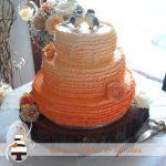 Mel & Tristan's Gympie wedding cake