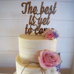 A Winter Wedding at Tiffany's {Maleny Wedding Cake}