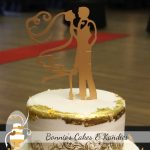 Golden Debutante Ball Celebration Cake 2017