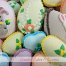 handmade candy Easter eggs