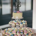Twin Waters Wedding Cake & Cupcakes {with Artography}
