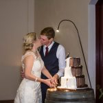 A Beautiful Couple. A Much-loved Venue. A Very Talented Photographer  {Flaxton Gardens Wedding Cake}